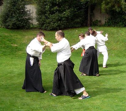 Cambridge Aiki Dojo - Gallery: Kaetsu Centre garden, 2005